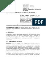 DEMANDA DE OBLI. DE HACER