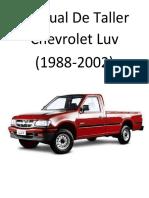 Chevrolet Luv (1988-2002) Manual de Taller.pdf