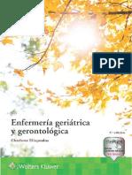 Enfermería geriátrica y gerontológica