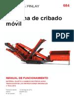 Zaranda Finlay 684 Manual Operacion Esp,.pdf