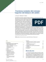 2012 Fracturas recientes del extremo superior del húmero del adulto
