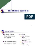Skeletal System Part II