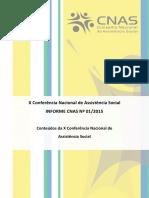 Informe CNAS 01.2015 (15.04.2015)