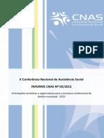 Informe CNAS 05.2015