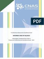Informe CNAS 04.2015 - Informações Complementares  19 05