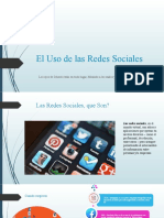 El Uso de las Redes Sociales.pptx