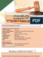 ANÁLISIS DEL EXPEDIENTE Nº 724-2017-0-6661-JP-CI-01