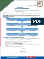comunicado de BALOTARIO BIMESTRAL N° 01 PARA PPFF