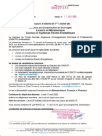 Concours d'entrée en 1ère année de licence Construction et Ouvrages - Mé....pdf