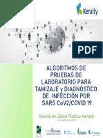COVID-19. Algoritmos pruebas laboratorio COVID19_ 09 08 2020