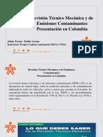 Revisión Técnico Mecánica y de Emisiones Contaminantes Presentacion en colombia.pdf