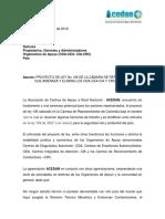 PROYECTO DE LEY NO 136 DE LA CAMARA DE REPRESENTANTES QUE AMENAZA Y ELIMINA LOS CDA-CEA-CIA Y CRC