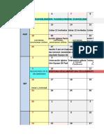 Calendario OSAR&PILAR 2018