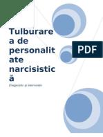 Tulburarea de personalitate narcisistica