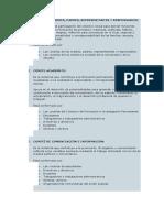 analisis  DE LOS COMITES y MBF