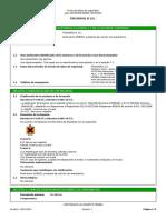 Ficha de datos de seguridad de 'TRICHOFOL B 15 L ' 22.01.14