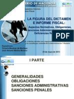La Figura Del Dictamen e Informe Fiscal Dgii