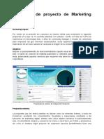 Propuesta de proyecto Marketing Digital