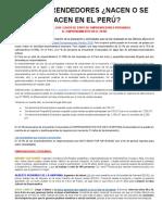 Casos de exito de emprendedores peruanos en menos de 8 años
