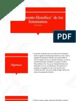 pp. filosofiìa de los feminismo