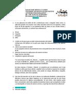 Cuestionario de sistemas. 2B