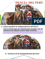 LA INDEPENDENCIA DEL PERU PPT