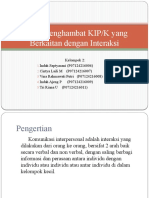 KELOMPOK 2 - Faktor Penghambat   KIP
