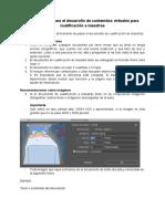 Orientaciones para el desarrollo de contenidos virtuales para cualificación a maestras