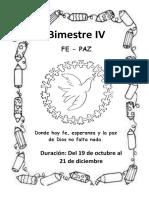 MODELO DE CARATULA IV BIM
