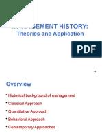 2. Management History