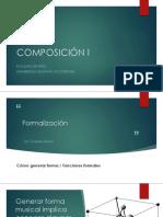 COMPOSICIÓN I formalización