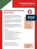 Firewall Analyzer