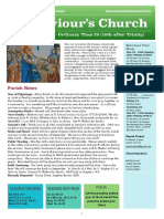 st saviours newsletter - 16 august 2020  trinity 10  ot20