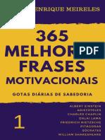 365 melhores frases motivacionais - Mario Henrique Meireles