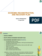 Government Presentation on Economic Recovery Plan (1)