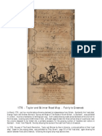 1776 - Taylor and Skinner - Road Map - Fairly to Greenock
