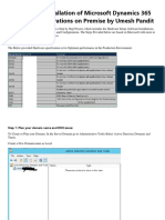 Step by Step Installation of Microsoft Dynamics 365 Finance and Operations on Premise by Umesh Pandit(1).pdf