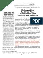 1946 Newspaper article 1