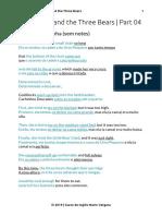 PDF Goldilocks and the Three Bears 04
