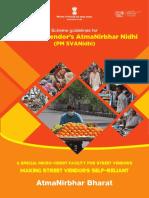 PMSVANidhi Guideline English