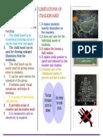 ADVANTAGES OF CHALK BOARD