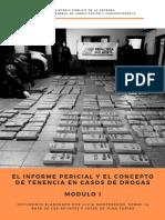 El informe pericial y el concepto de tenencia en casos de drogas. Módulo I.pdf