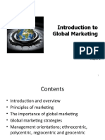 Introduction to Global Marketing