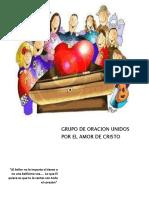 CANCIONERO GRUPO DE ORACION UNIDOS POR EL AMOR DE CRISTO 2