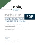 Periodismo musical online en España