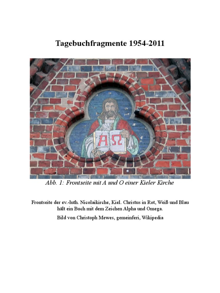 Tagebuchfragmente 1954 2011