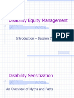 Disability Euity 7