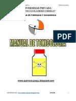 Anon - Manual de Toxicologia