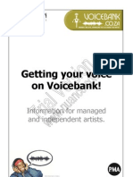 Getting your voice on Voicebank!