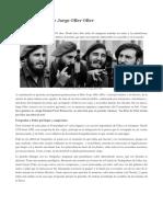 Fidel en el lente de Jorge Oller Oller